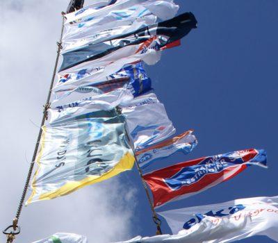 sponsorvlaggen